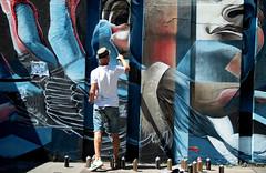 step in the arena Eindhoven (wojofoto) Tags: eindhoven nederland netherland holland streetart stepinthearena berenkuil festival graffiti 2018 wojofoto wolfgangjosten action artist streetartist gomad