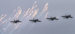 Belarusian Air Force (free3yourmind) Tags: parade minsk belarus 3july air force formaton flying smoke