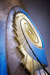A Spiral in my own backyard (Pat Charles) Tags: spiral stairs staircase floating artdeco architecture architectural interior indoor indoors inside handrail steps decoration decor australia melbourne victoria nikon fibonacci disappearingpoint leadinglines