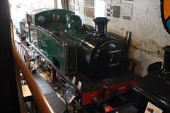 1704-KW-01072018-1 (RailwayScene) Tags: hudswellclarke 1704 ingrow keighley kwvr worthvalley