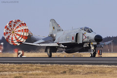 Japan Air Self Defence Force, McDonnell Douglas F-4EJ Kai Phantom II, 97-8426. (M. Leith Photography) Tags: mark leith photography japan japanese self air defence force jasdf mcdonnell douglas phantom f4 ibaraki hyakuri sunshine base fighter nikon d7000 d7200 70200vrii 300mmf4 nikkor asia flying military sky building airplane aircraft cockpit jet