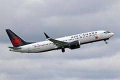 B737 MAX8 C-FSDQ AIR CANADA (shanairpic) Tags: jetairliner passengerjet b737 boeing737 max8 shannon aircanada cfsdq