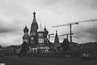 Saint Basil's Cathedral - Red Square - Moscow