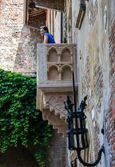 Oh Romeo, Romeo... (std70040) Tags: verona romeoandjuliet balcony girl woman