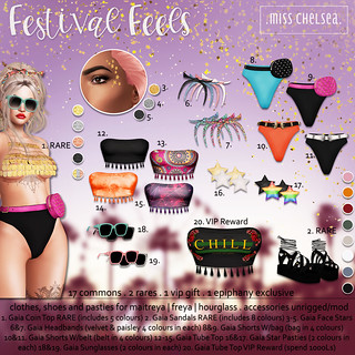 .miss chelsea. festival feels gacha - coming soon @ Epiphany!