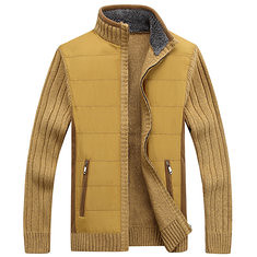 Winter Mens Plus Size Cardigan Sweater Coat Cashmere Thick Sweater Jacket (1214818) #Banggood (SuperDeals.BG) Tags: superdeals banggood clothing apparel winter mens plus size cardigan sweater coat cashmere thick jacket 1214818