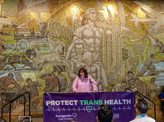 2018.07.17 #ProtectTransHealth Rally, Washington, DC USA 04691