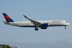 Delta Airlines A350-941 (N501DN) LAX Approach 2 (hsckcwong) Tags: deltaairlines a350941 a350900 n501dn lax klax airbusa350