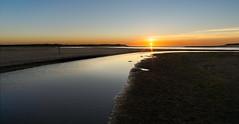 Sunset at de Slufter Texel (Rob Schop) Tags: lr wideangle deslufter landscape ps texel samyang12mmf20 nederland a6000 f16 sunset sonya6000