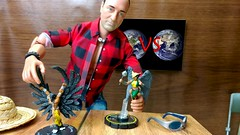 Paprihaven 1406 (MayorPaprika) Tags: lgv20 lgvs995 112 custom diorama toy story paprihaven action figure set worldpeacekeepers wpk newton heroclix mageknight wereraven dc comics hawkgirl