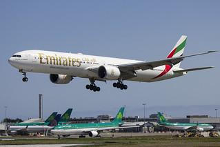 A6-EPI | Emirates | Boeing B777-31H(ER) | CN 42328 | Built 2015 | DUB/EIDW 16/05/2018