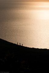 The watchers (The Frustrated Photog (Anthony) ADPphotography) Tags: category edincik places travel turkey canon1585mm canon canon70d outdoor silhouette seascape landscapephotography landscape travelphotography trees water sea marmarasea erdekbay coast coastline coastal bronze waves shimmer