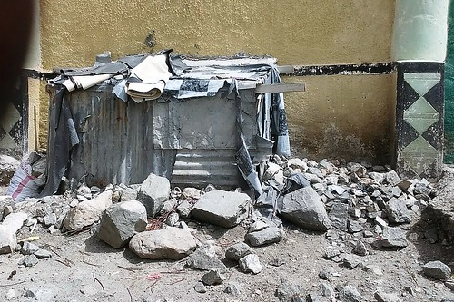 Goat shed in Borama