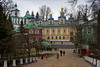 The Monastery yard (atardecer2018) Tags: храм архитектура псков печеры православие 2016 russia pskov people architecture arquitectura orthodox pechory monastery