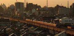 The First Train of the Day (seiji2012) Tags: 国立市 中央線 朝 東京 kunitachi tokyo chuoline jr railway morning