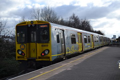 Merseyrail 508117 (Will Swain) Tags: station 17th march 2018 liverpool merseyside class 507 508 electric north west train trains rail railway railways transport travel uk britain vehicle vehicles country england english sandhills merseyrail 508117