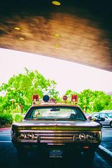 Folsom Prison Blues (Thomas Hawk) Tags: america california franklloydwright fury marin marinciviccenter marincounty marincountysheriffsdepartment plymouth plymouthfury sanrafael usa unitedstates unitedstatesofamerica architecture auto automobile car police policecar sheriff fav10 fav25 fav50