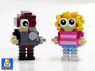 Mini Bricks Terminator Sarah