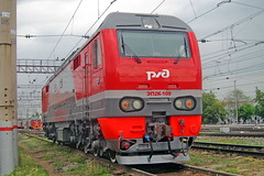 EP2K-109 (zauralec) Tags: rzd ржд локомотив электровоз депо курган kurgan depot эп2к ep2k ep2k109 109 эп2к109