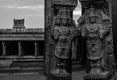 @ Lepakshi, India | 2018 (Vijayaraj PS) Tags: india asia incredibleindia outdoor monochrome sky iamnikon travel temple 2018 blackandwhite contemporaryphotography sculptures ancientsculptures indianhistory