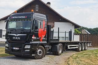 MAN TGX XLX E6 18.420 BLS - Metal Coating NV Beringen, België