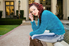 Chanelle (Wildeye Photography) Tags: model portrait winter fashion redhead