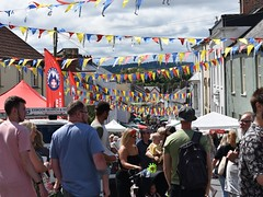 Photo of Bright skies and bunting