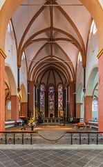 St.Suitbertus in Kaiserswerth (ulrichcziollek) Tags: stsuitbertus kaiserswerth nordrheinwestfalen düsseldorf kirche kirchenschiff gotik romanik