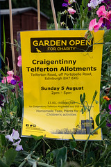 Scotland's Gardens Craigintinney Telferton July 2018 -186 (Philip Gillespie) Tags: edinburgh scotland craigentinny telferton portobello summer gardens park open plants fruit vegetables knitting insects animals trees people men women kids boys girls sky sun clouds colours green yellow blue white black red purple orange rainbow butterflies bees wasp honey pollen water canon 5dsr photography color path walk urban streets sheds plots flags bunting scotlands 2018 tyres bright colourful wet lady birds bugs signs houses