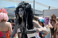 Mermaid Parade 2018 (Samicorn) Tags: nikon brooklyn mermaid costume parade summer june nyc newyorkcity boardwalk coneyisland sunny festival glitter shiny gothamist mermaidparade brokelyn bw timeout
