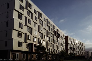 UCSD grad student housing. La Jolla