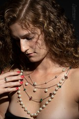 Maygen (austinspace) Tags: model portrait spokane washington woman redhead neckwear necklace hair freckle freckles nude