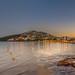 Sunset at Santa Eulalia Beach, Ibiza