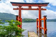 水上鳥居@箱根神社 (Neo 's snapshots of life) Tags: 日本 japan sony a73 a7m3 24105 水上鳥居 箱根神社 hakone