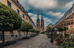 Tumski island (Vagelis Pikoulas) Tags: wroclaw poland europe polish travel architecture church cathedral view landscape city cityscape lightroom island urban may spring 2018 canon 6d tokina 1628mm