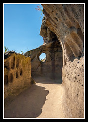 Open Passage (veggiesosage) Tags: nottingham aficionados gx20 castle nottinghamcastle passage sigma1020mmf456dc caves
