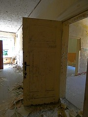 P1230858 (businessofferrets) Tags: urbanexploration urbex soviet lenin hausderoffiziere