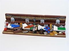 The Pirates' Quarters (LeahG16) Tags: pirates lego peter pan ship