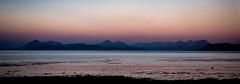 Skye from Applecross Beach (Joe Hayhurst) Tags: 2018 highlands joehayhurst landscape lumix scotland summer torridon applecross skye panorama seascape sunrise pink orange dawn lx100