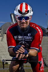 Cyclist portrait (Paal Lunde) Tags: cyclist biker bike usa us military cycling team tri triathlon triathlet red white blue usmes endurance race sports ironman