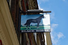 Black Horse, Camden (Dayoff171) Tags: london greatbritain greaterlondon pubsigns signs unitedkingdom england europe