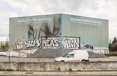 FUC*S (203/365) (Walimai.photo) Tags: street salamanca spain españa lumix lx5 panasonic car coche grafitti fuck abandono