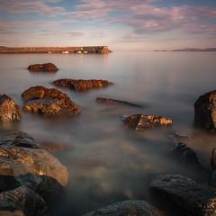 Early morning at Mayo Ireland. (j0hnnyg) Tags: 2018 ireland countymayo ie pier boats sea water rocks ten stopper