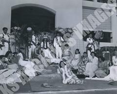 922- 5556 (Kamehameha Schools Archives) Tags: kamehameha archives ksg ksb ks oahu kapalama luryier pop diamond 1955 1956 lei day harriet kanehe