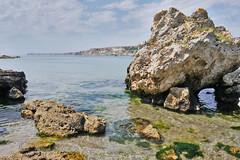 Bulgarian Black Sea coast (yuliyadraganova) Tags: sea bulgaria landscape seascape seaside nature europe travel photography beach roadtrip