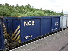 "Chasewater Railway ""The Colliery Line"" 17/06/18 (gardnergav) Tags: chasewaterrailway steam railway preservedrailway lightrailway brownhills trains 170618 ncb wagon coal nationalcoalboard"