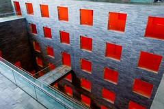 _DSC3947 (durr-architect) Tags: netherlands institute sound vision neuteling riedijk architecture media compound hilversum building glass colourful beeld geluid museum light structure modern