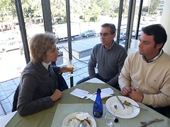 15/06/18 - Almoço em Santana do Livramento/RS com o vereador Maurício Del Fabro (Galo), lideranças e amigos.