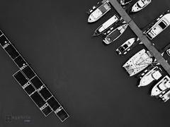 2K-IMG0083-20180620 (-syphrix-) Tags: syphrix singapore yacht boat water sea 2018 drone aerial overhead monochrome monotone mono black white dji mavic pro