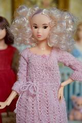 Curly-Haired Willow (Girl Least Likely To) Tags: momoko sekiguchi closeclippedsheep dolls toys asianfashiondolls japanesetoys miniatures dollhouse dollscene diorama dollroom livingroom dresses